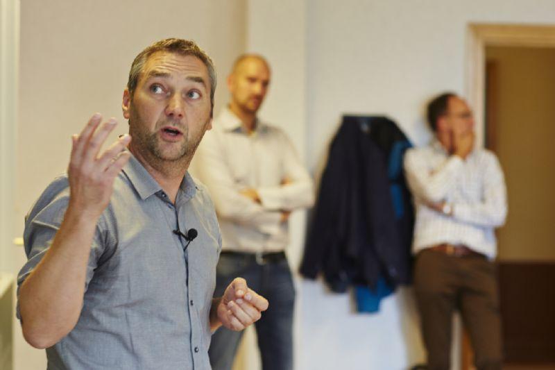 Nic Maes, BIM-manager bij Mathieu Gijbels, deelt zijn kennis.