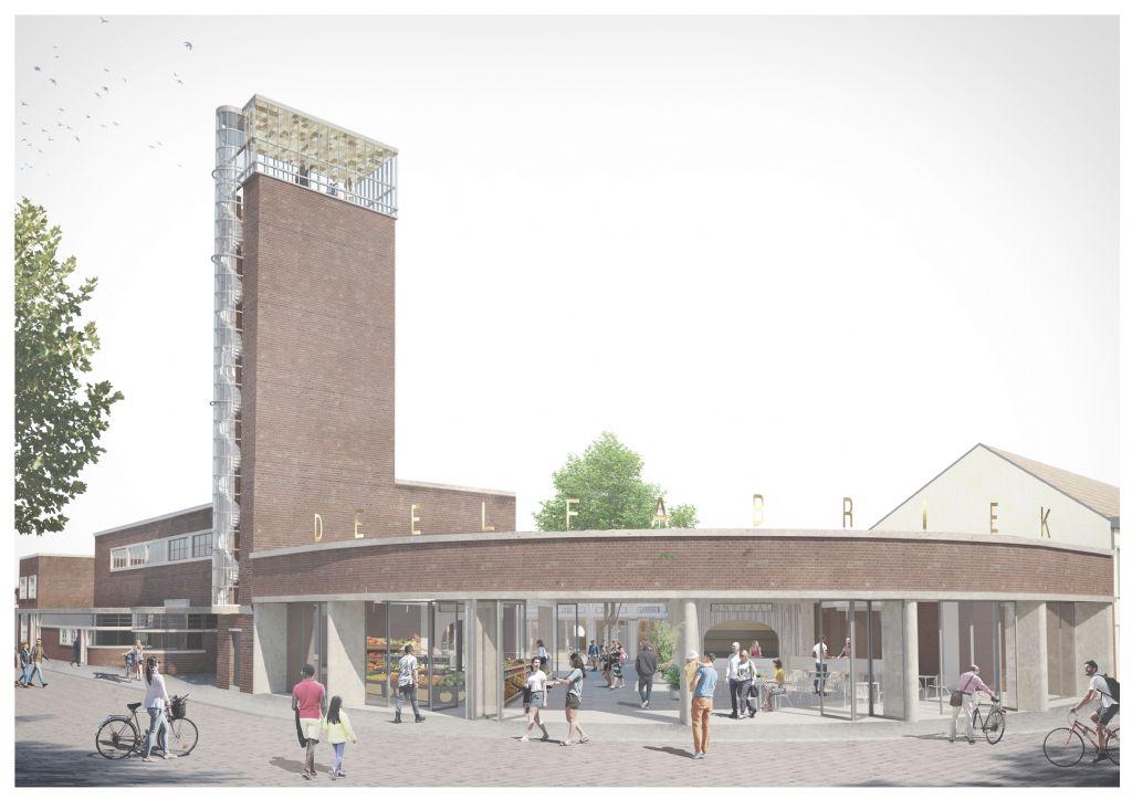 TRANS architectuur | stedenbouw vormt oude brandweerkazerne Kortrijk om tot deelfabriek