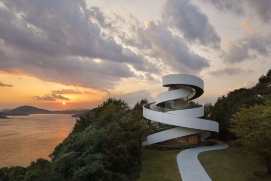Ribbon Chapel, Hiroshima, Japan. NAP Architects.