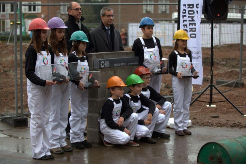 Het nieuwe gebouw wordt mogelijk gemaakt door Scholen van Morgen.