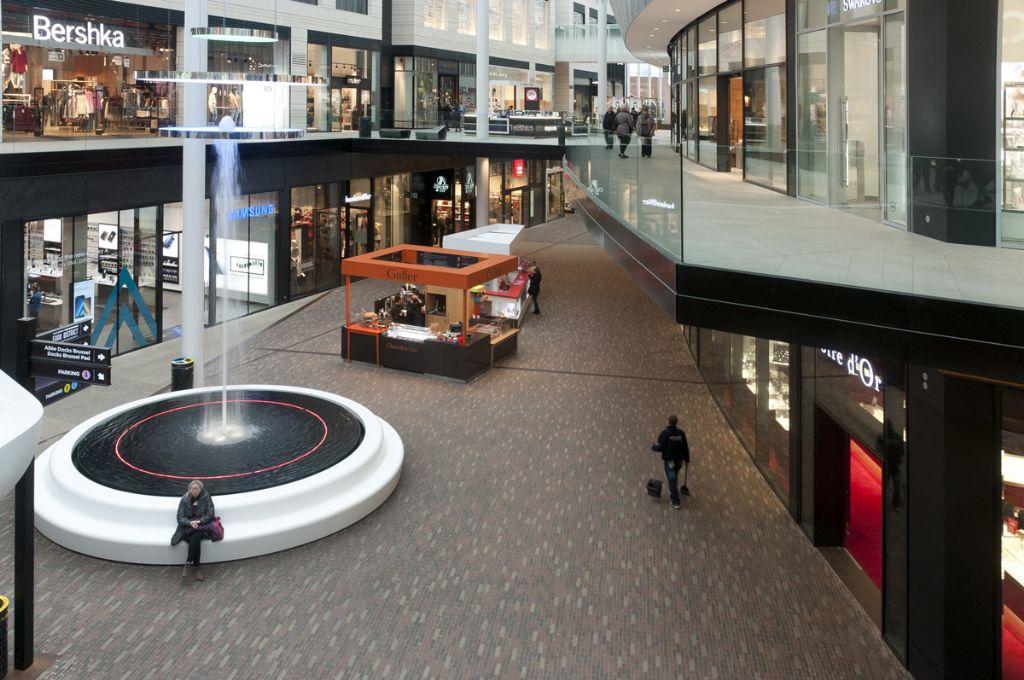 Centre commercial Docks Bruxsel : un rayonnement unique grâce à des pavés en terre cuite
