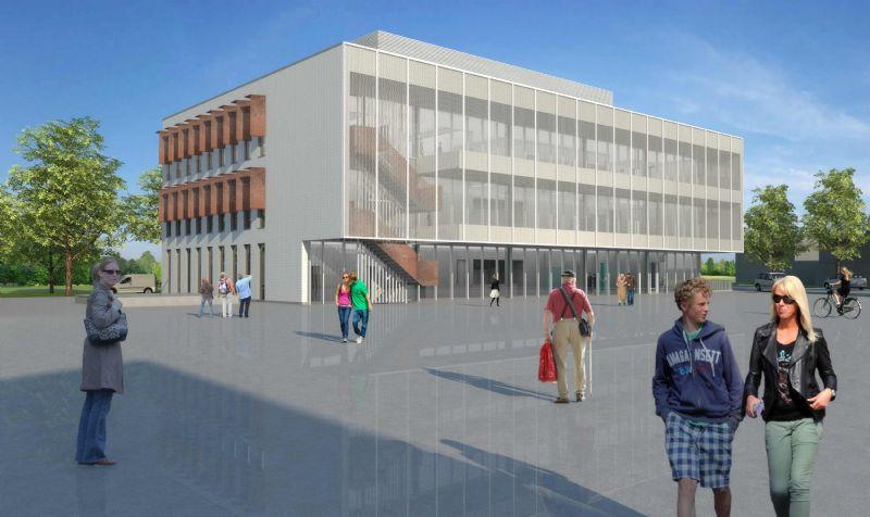 De nieuwe zorgcampus zal een ambulant centrum met onderzoekslokalen voor verschillende disciplines, een woonzorgcentrum en een dagcentrum omvatten.