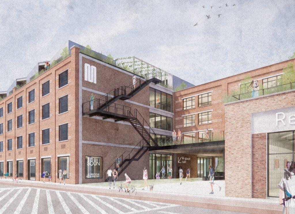 Toekomst Leuvense Marie Thumas-site aan de Vaart krijgt vorm met ontwerp van KRAS architecten