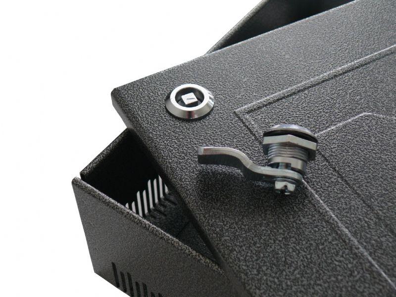 ZinCo controleschacht - Vergrendeling van het deksel