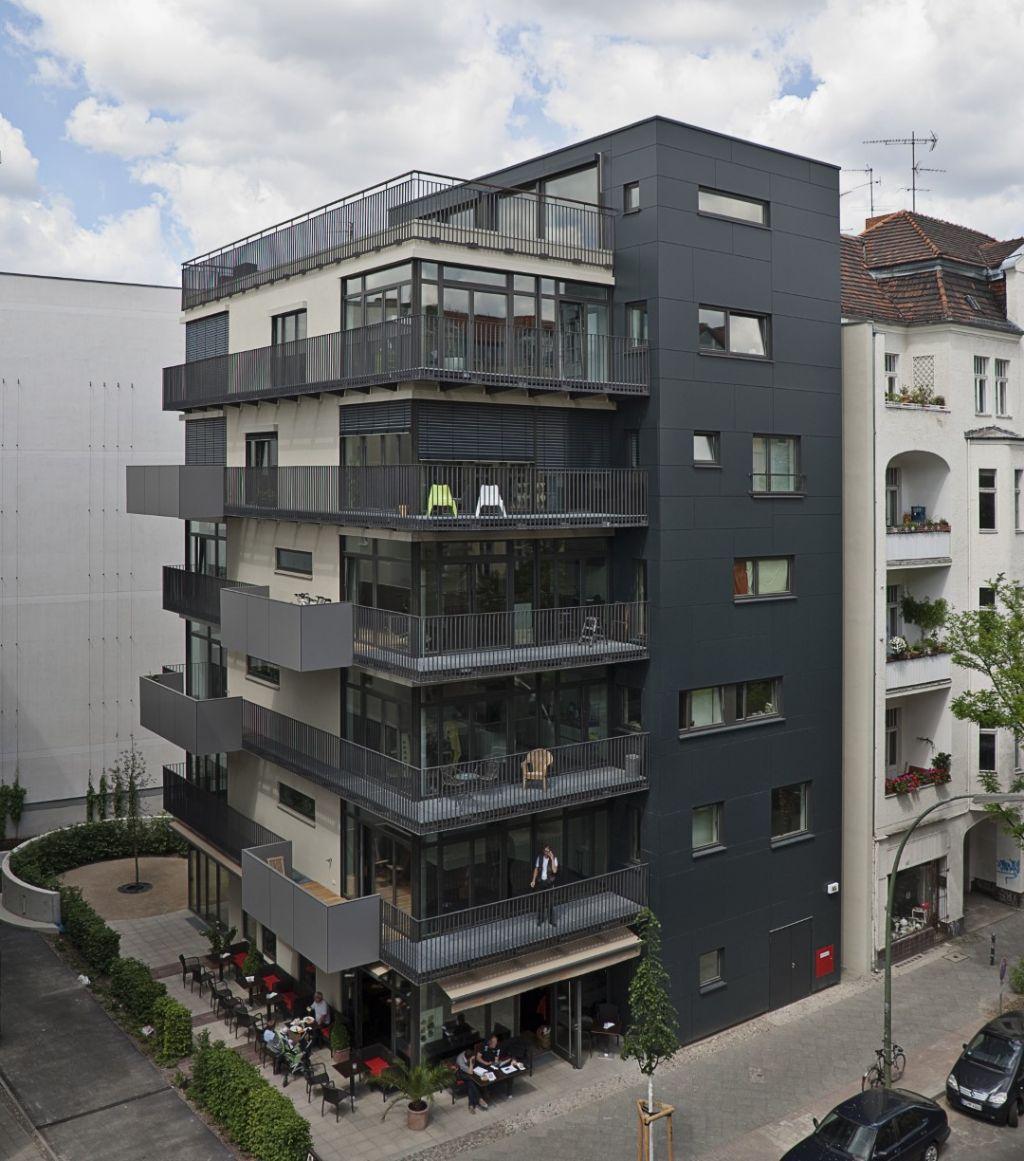 Aantrekkelijk woonproject siert ingesloten perceel in Berlijn