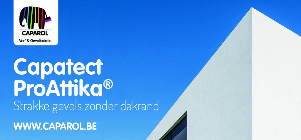 Capatect ProAttika®: voor strakke gevels zonder dakrand