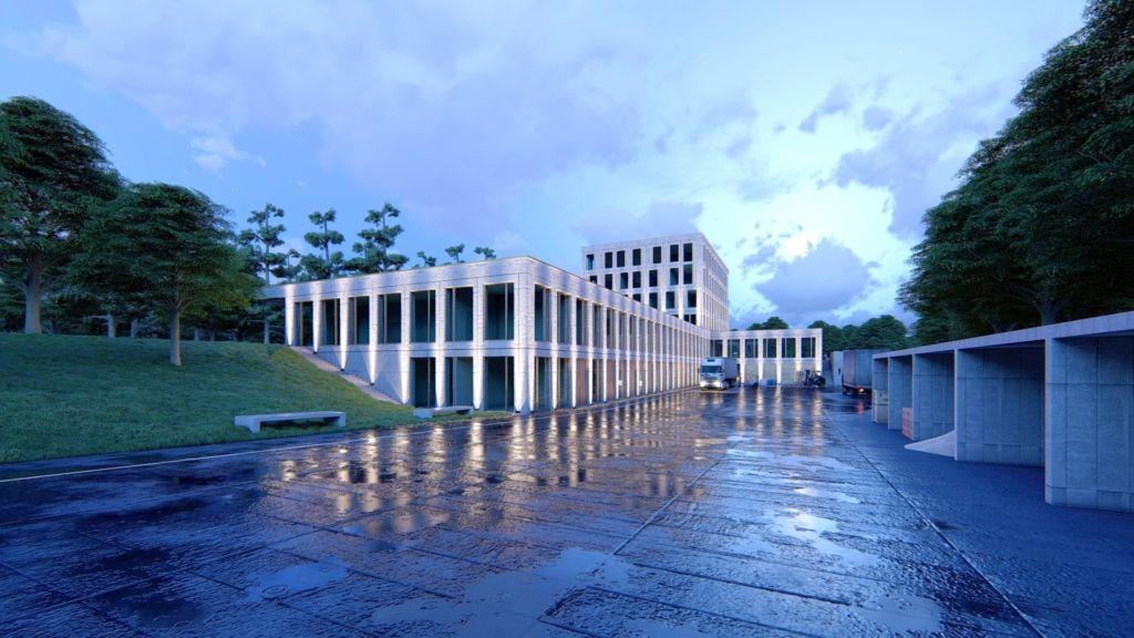 B2Ai ontwerpt nieuw logistiek en administratief centrum Sint Oda
