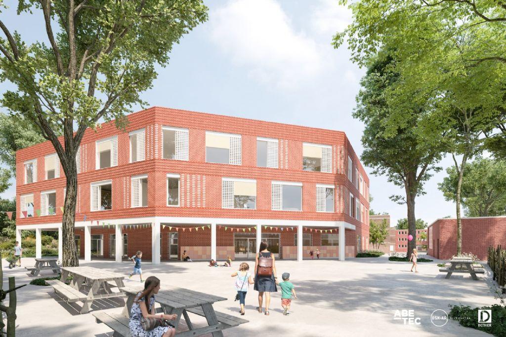 Uitbreiding GO-campus KA Tervuren (OSK-AR architecten, Abetec architecten en ingenieurs)