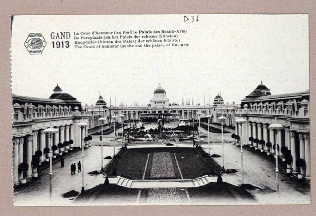 Overzicht terrein Wereldtentoonstelling1913