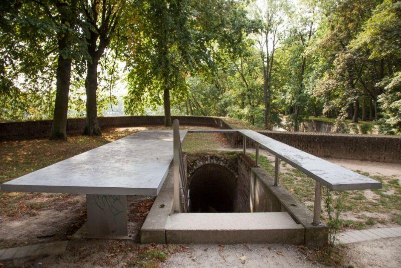 Ondergrondse gangen vestigden een bakkerij tijdens de eerste wereldoorlog.