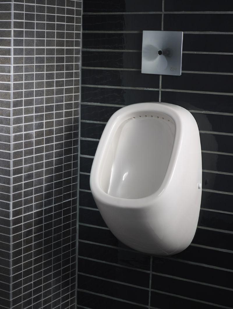 Het Connect urinoir heeft een simpele en moderne uitstraling.
