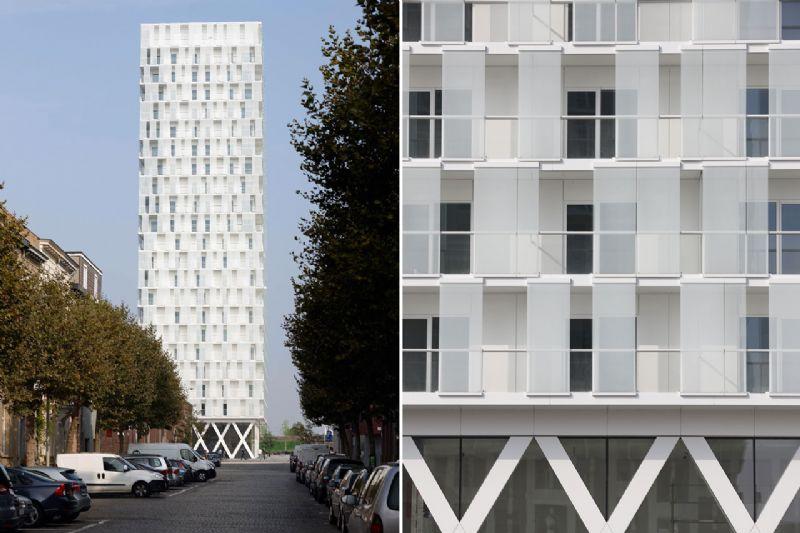 Studio Farris Architects: Park Tower Antwerpen.