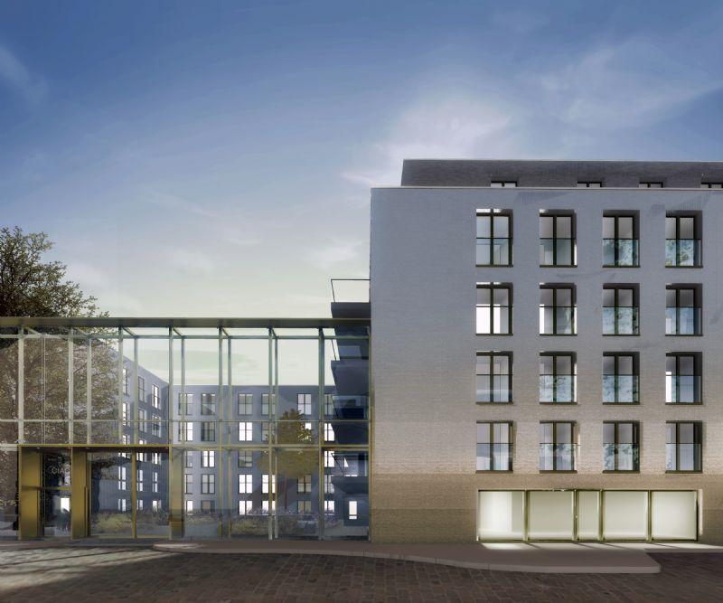 Dunant Gardens zal bestaan uit 145 appartementen en 57 assistentiewoningen met een ondergrondse parking, retail, kleine, handelsruimte en kantoor-en praktijkruimte.