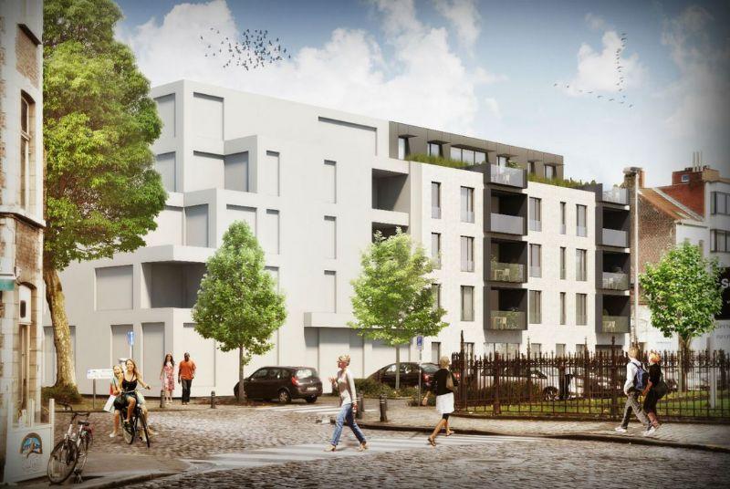 Hoprom nv wil het project aan de Jozef Kluyskensstraat in Gent in 2015 afgewerkt hebben.