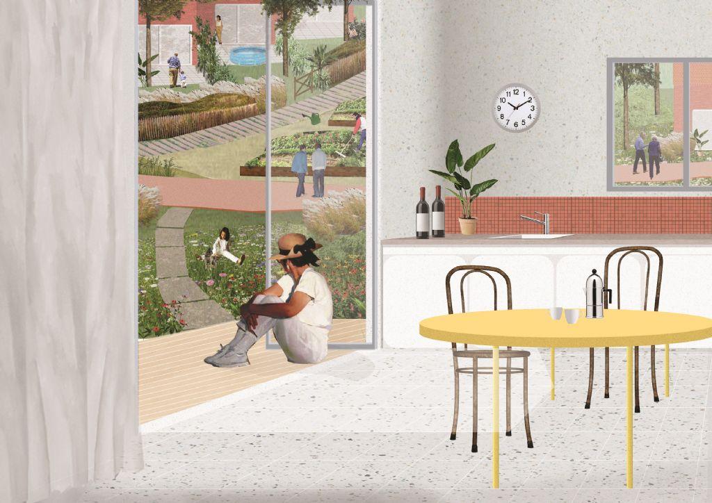 Densification de la cité-jardin du Homborch à Uccle | architectura.be