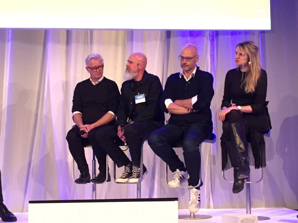 Luc Vanhout, Niklaas Deboutte, Bart Cobbaert en Kaatje Spapen