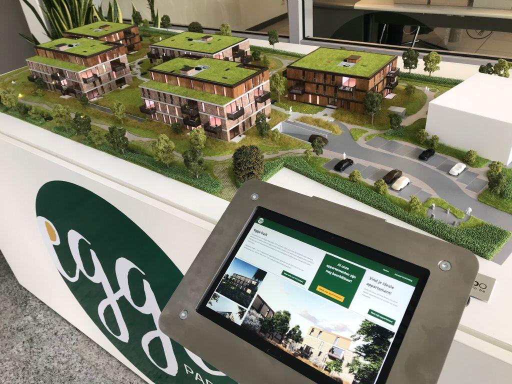 Cr3do crée la première maquette numérique interactive pour le constructeur Dethier
