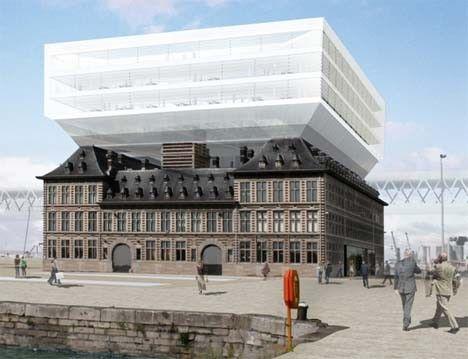 ontwerp voor Het Havenhuis © a2o-architecten