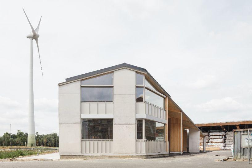 Winnaar BBA in de categorie Build2Work: TRANS architectuur met kantoorgebouw Van Hoorebeke Timber