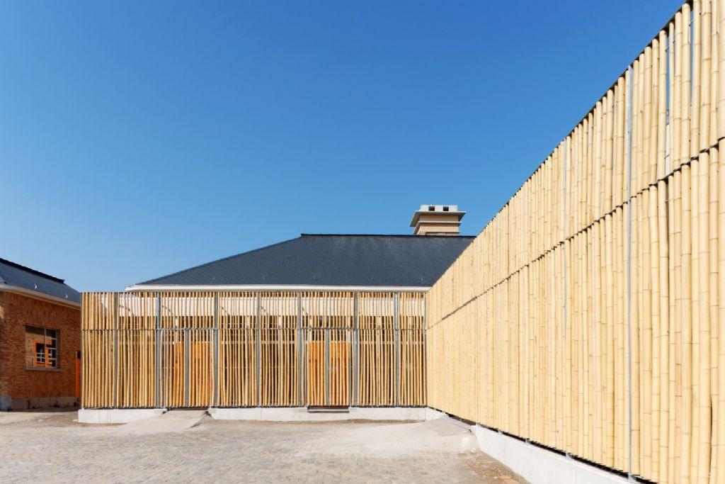 Centre culturel de Namur, dans les anciens abattoirs de Bomel