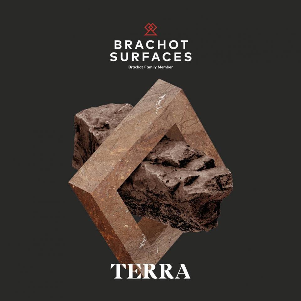 Brachot Surfaces introduceert Terra: sobere maar veelzijdige natuursteen