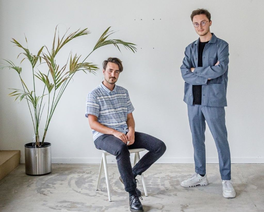 Jakob Ghijsebrechts en Cente Van Hout