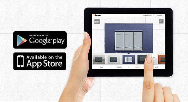 De interface van de app laat gebruikers makkelijk toe om combinatiemogelijkheden voor afdekplaatjes te zien op eigen foto's.
