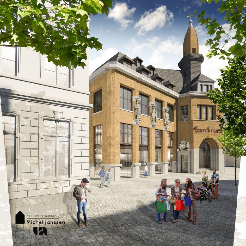 Oud Gerechtshof in Hasselt krijgt complete make-over