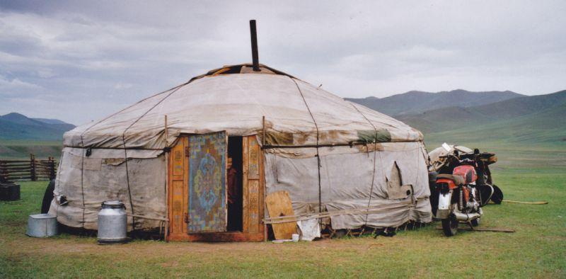 Ger in Mongolië