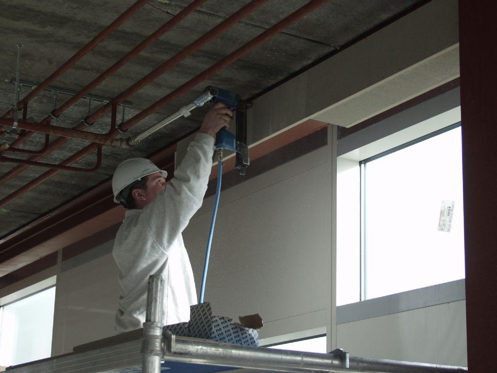 Une solution esthétique et pratique pour la protection incendie de l'acier