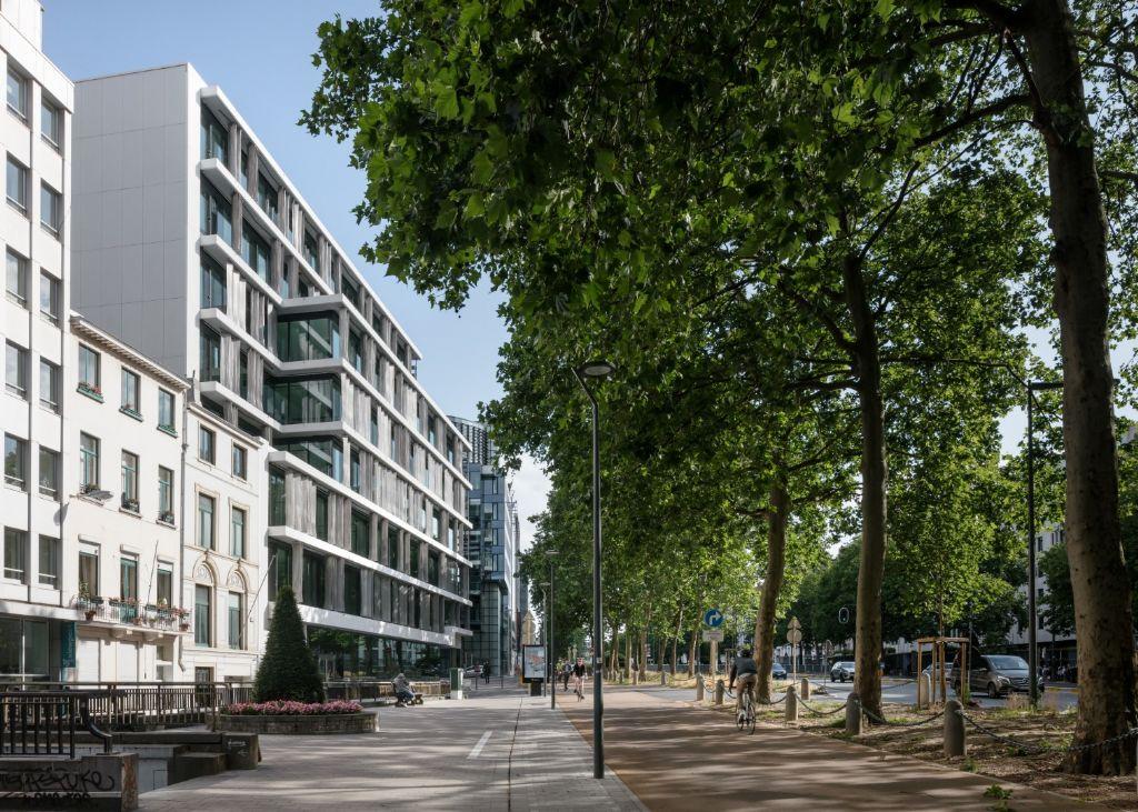 Quartz ligt midden in de Europese wijk.
