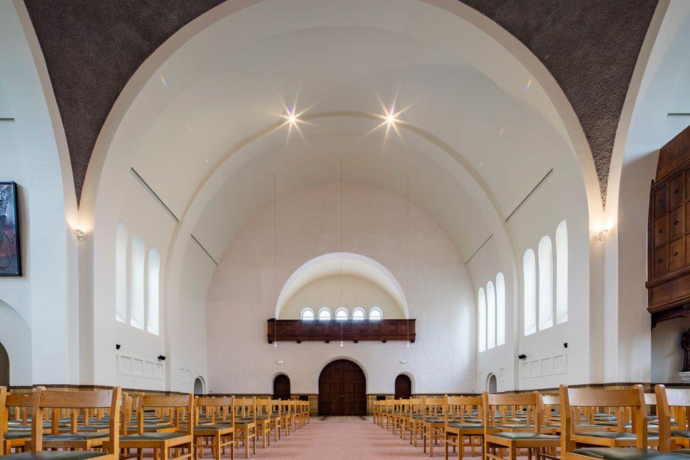Rénovation de l'église paroissiale du Christ-Roi à Bruges