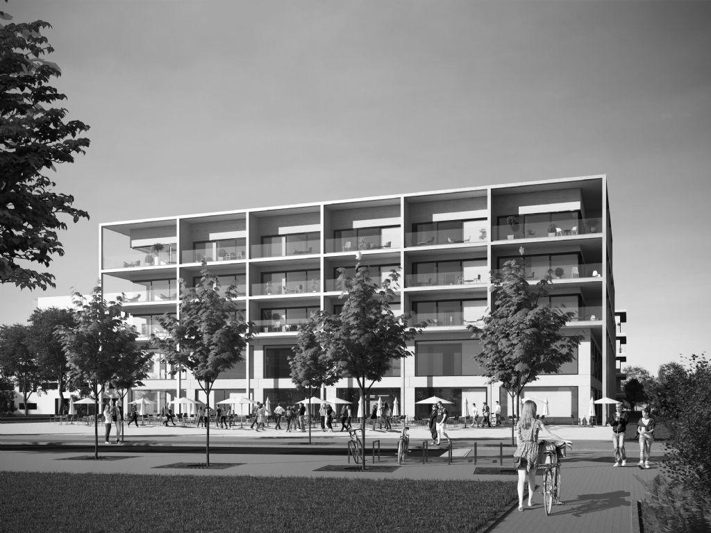 Bouw centraal blok nieuw Zuiderplein in Antwerpen gestart