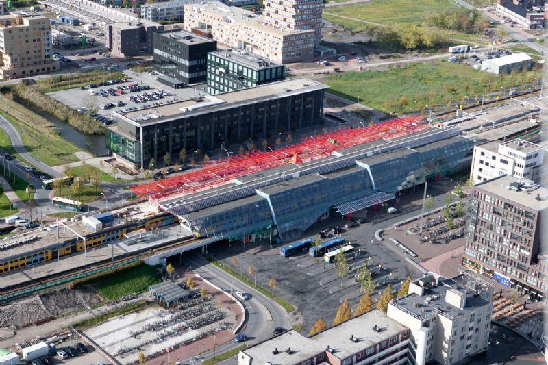 De jury nomineerde de uitbreiding van het station van Lelystad uit 23 projecten in de categorie 'Infra en mobiliteit'