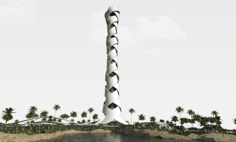 Studio Farris - Geweven Toren - Dubai