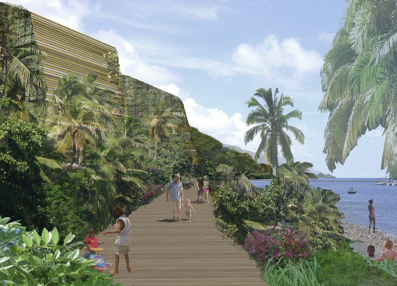 Mero Beach Dominica.