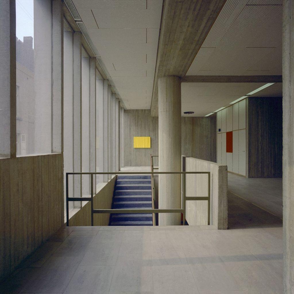 Namur, Faculté de Droit (architecte : Roger Bastin, 1971-1973)