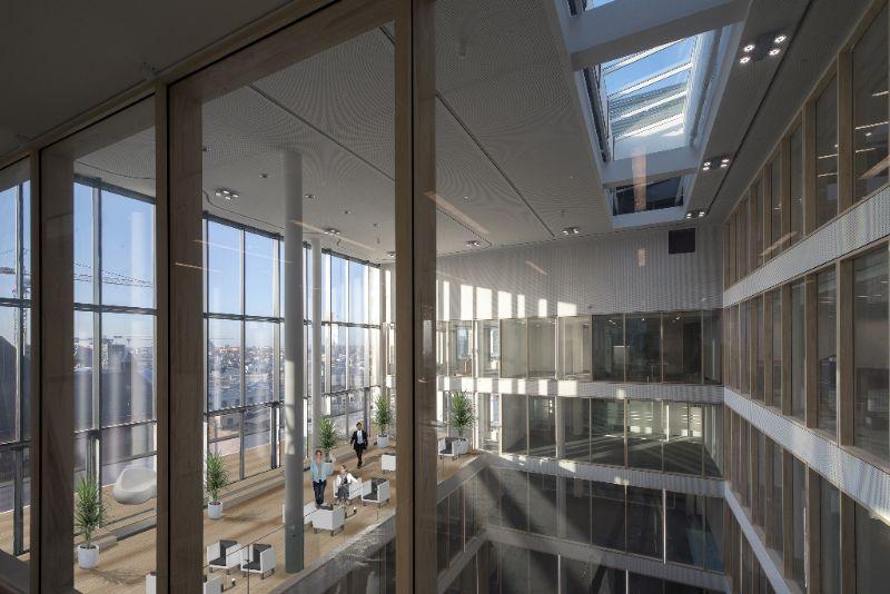 Treurenberg à Bruxelles, nominé dans la catégorie « Best Innovative Building » (ASSAR architects)