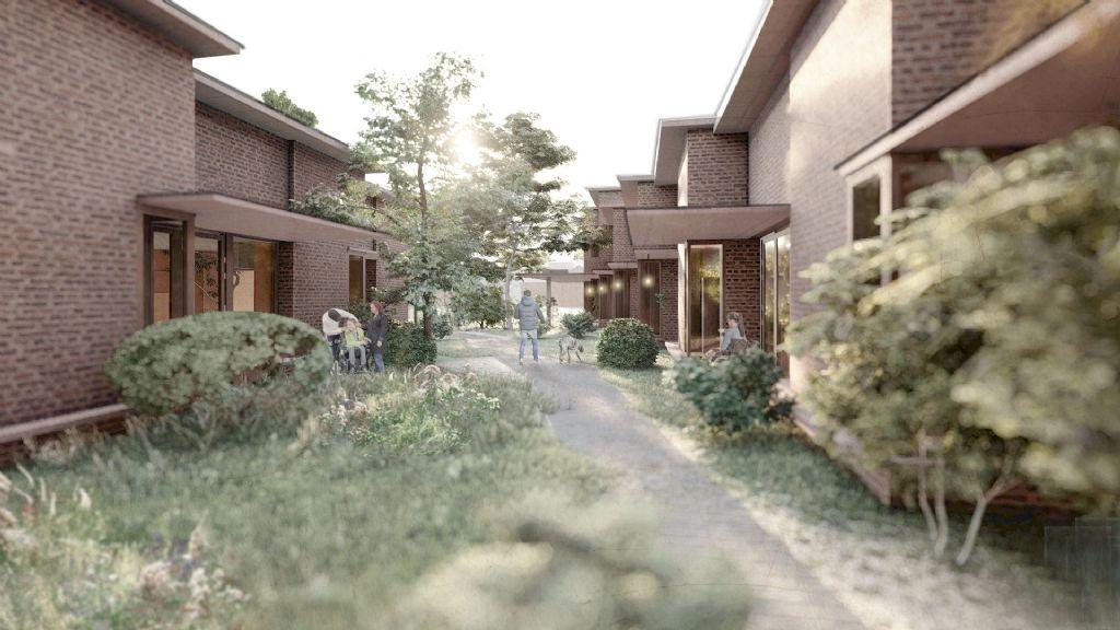 POOT architectuur en Schenk Hattori introduceren huiselijke zelfstandigheid in inclusieve buurten rond Sint-Niklaas