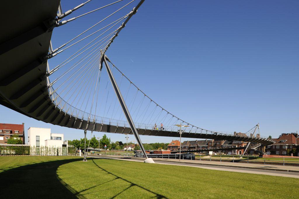 Collegebrug Kortrijk, Ney & Partners + SumProject