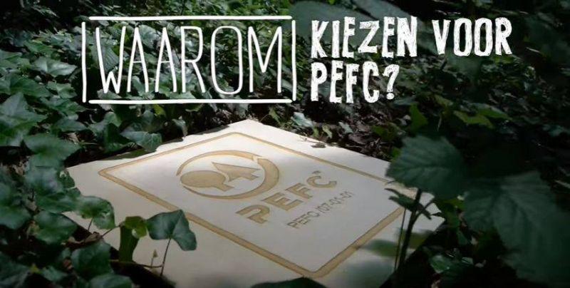 Waarom kiezen voor hout met het PEFC-label?