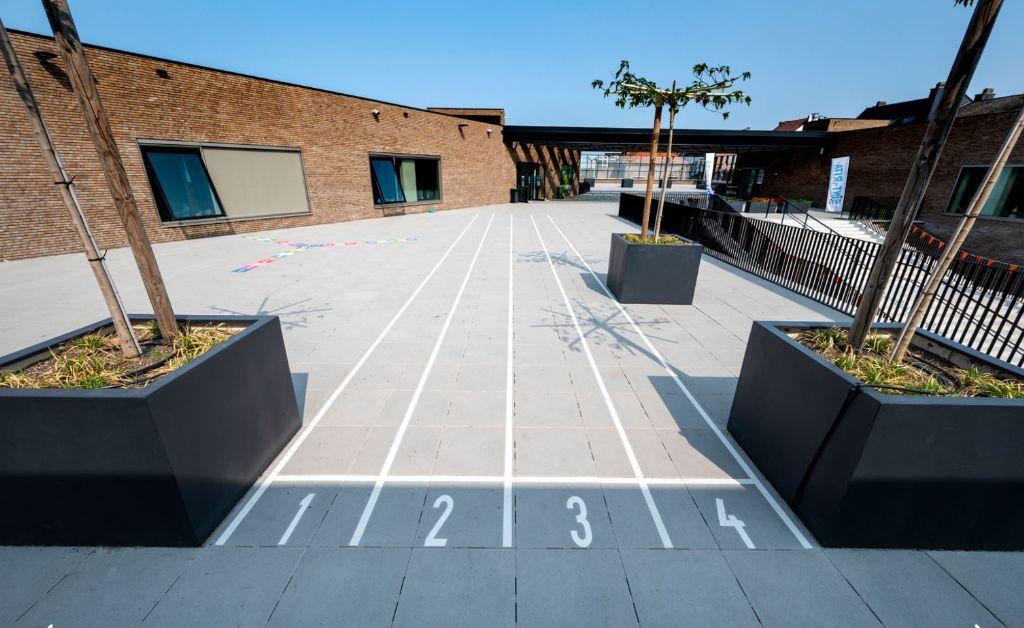 Spelen op het dak: optimaal gebruik van de ruimte