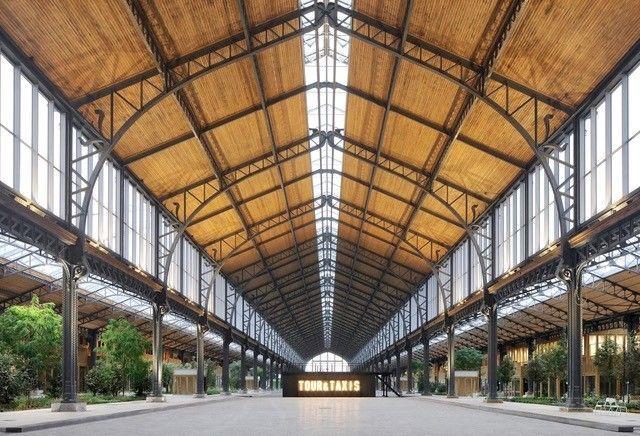 Klimaatplafonds verbeteren comfort in Gare Maritime