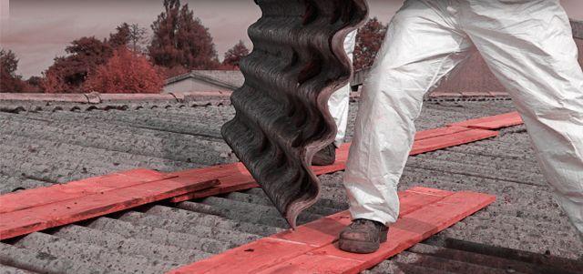 Asbest werd tot de jaren 90 volop gebruikt.