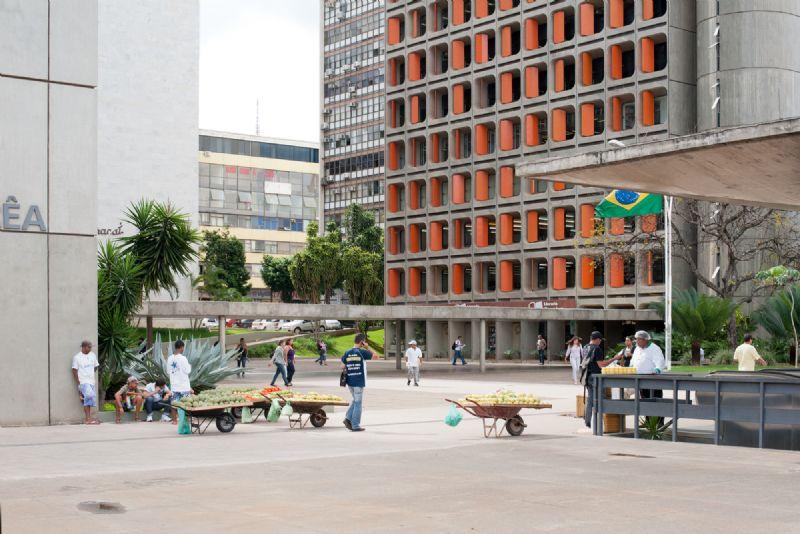 Brasilia centrum.