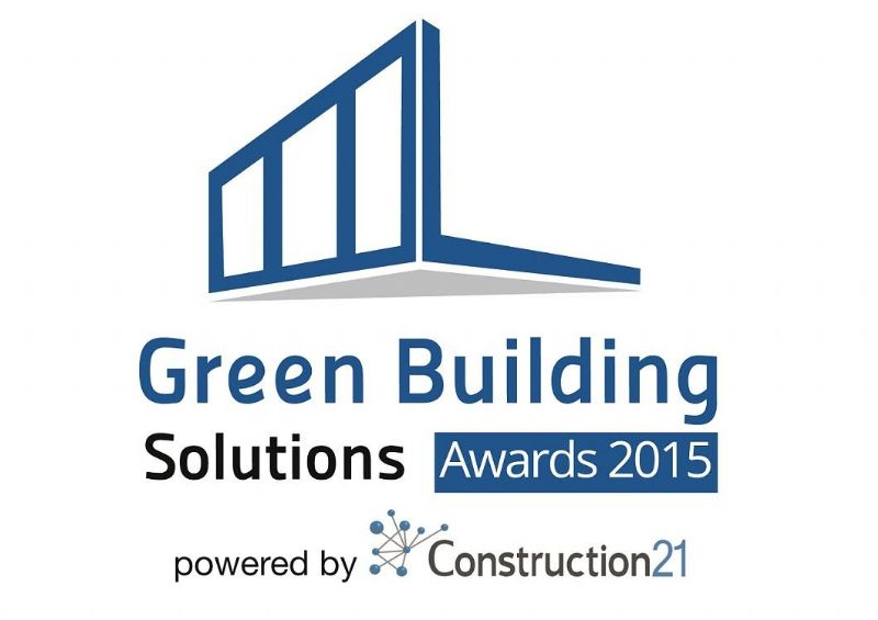 Green Building Solutions Awards 2015, c'est parti !
