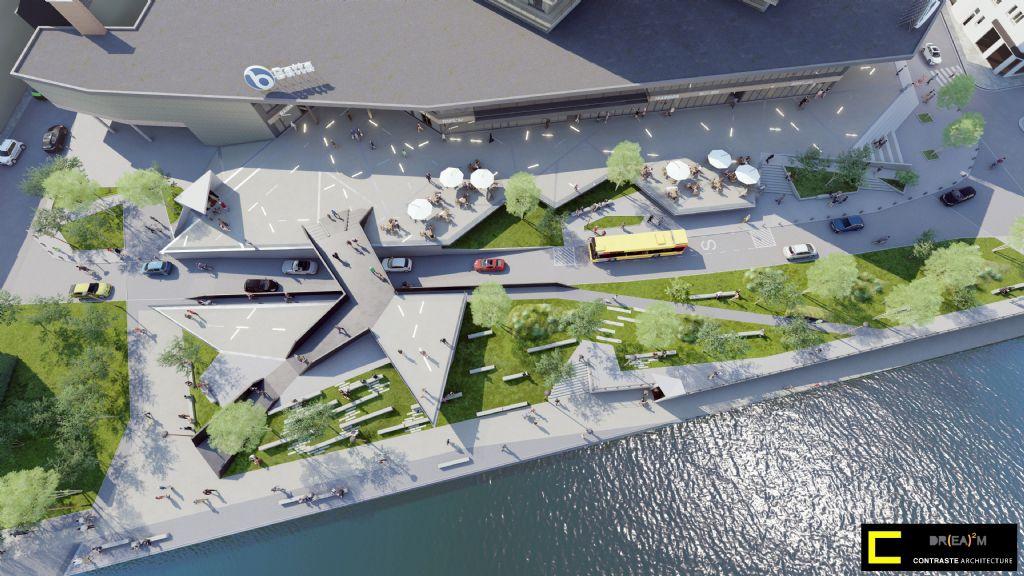 L'Esplanade Batta, nouveau lieu de convivialité à Huy