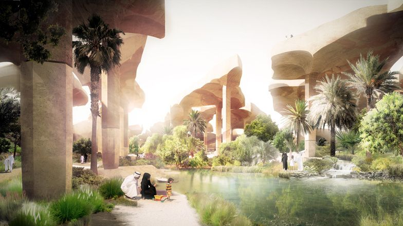 Al Fayah zal een ontspanningsplek zijn voor de inwoners van Abu Dhabi.