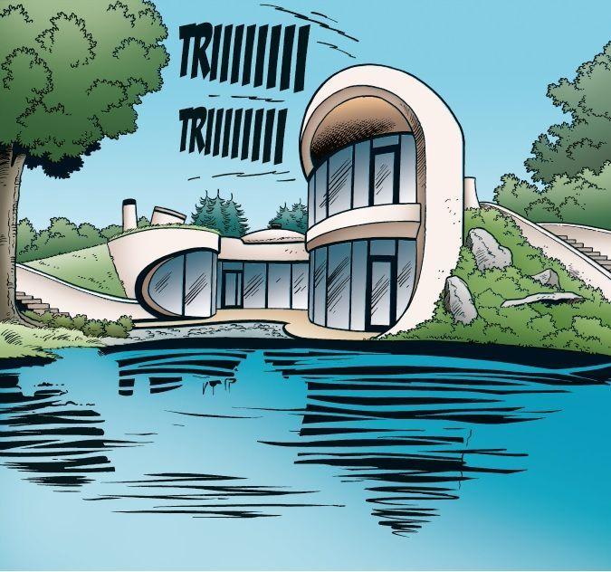 Organische architectenwoning