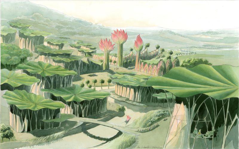 De Lotusstad, Luc Schuiten.